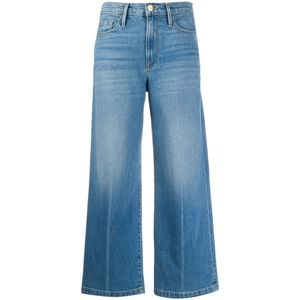 NEW! Frame Ali Wide Crop High Rise Jeans Size 25
